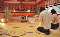 Praying to the kami (Caravanserai (The Hub)) Tags: kyoto shinto kami
