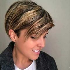 De nouvelles Coupes de cheveux Courts pour les Femmes avec des Poils Épais De 15 Photos (votrecoiffure) Tags: 2019 cheveux coiffure votrecoiffure