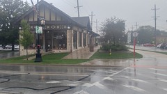 (sfrikken) Tags: villa park illinois dupage county bicycle rain prairie path bike museum