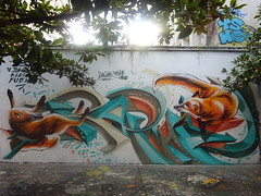 Lima Lima & Raphe : Ich bin ein kleiner Fuchs (septembre 2019) (Archi & Philou) Tags: streetart ruehenrinoguères murpeint paintedwall limalima raphe renard fox fuchs graff paris19