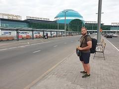 Nursultan Nazarbajev Airport.