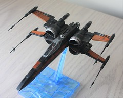 IMG_0640 (2) (ultraviolet08@verizon.net) Tags: resistance poes boosted xwing t70 172 bandai