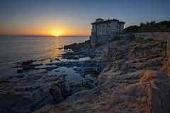Castel Boccale (szn_d) Tags: italy italia landscape livorno castle castel boccale sunset sunlight beautiful canon