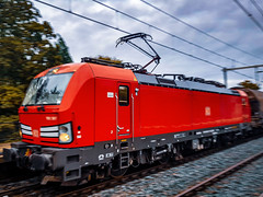 DB Cargo 193 307 met gemengde lading @ Eindhoven (Avinash Chotkan) Tags: 193307 cargo thenetherlands trains br193 siemens vectron db dbc closeup