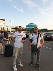 After a delayd flight from Poland to Kazakhstan we finally made it to the capital Nursultan.