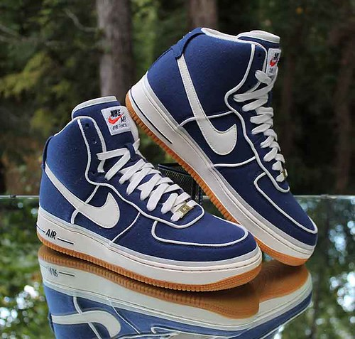 Nike Air Force 1 High '07 LV8 Men's Size 11 Binary Blue Sail