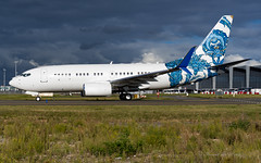 BBJ1_BBJONE_N737ER_BRU_SEP2019 (Yannick VP) Tags: civil corporate business bizjet vip vvip passenger transport aircraft airplane aeroplane jet jetliner airliner boeing bbj bbj1 bbjone b737 737700 wgl winglets ng nextgen nextgeneration n737er airside taxi taxiway twy j brussels airport bru ebbr belgium be europe eu september 2019 aviation photography planespotting airplanespotting