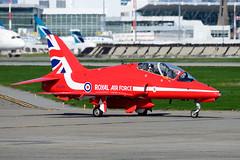 CYVR - Royal Air Force Hawker Siddeley Hawk T.1A XX219 (CKwok Photography) Tags: yvr cyvr royalairforce hawkersiddeley hawk t1a xx219