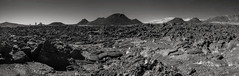 Craters of the Moon (San Francisco Gal) Tags: cratersofthemoon nationalmonument idaho lave crater mountain monochrome bw nb blackandwhite
