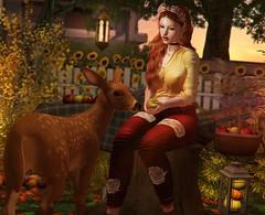 My cute Bambi (nannja.panana) Tags: tmcreation catwa deetalez letredoux levelevent lootevent luaneposes nannjapanana shapeit tmp treschic vagrant zerkalo