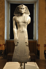 Praying Statue Of King Amenemhet III (Ryan Hadley) Tags: neuesmuseum musuem museumisland museumsinsel berlin germany europe worldheritagesite egyptian pharaoh statue sculpture art
