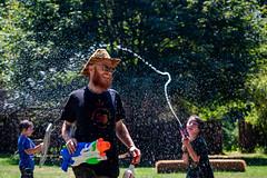 Waterfight! at Teddy Bear (dsgetch) Tags: waterfight watergun water attack supersoaker soaker soak soaked summer ginger ocf ocfexternalsecurity ocfextsec ocfteddybear ocfteddybearpicnic ocf2019 oregoncountryfair2019 oregoncountryfair action actionshot cascadia pnw pacificnorthwest pnwlife pnwwonderland oregon willamettevalley lanecounty venetaoregon