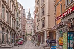 ISTANBUL (01dgn) Tags: istanbul turkey türkei türkiye europa europe avrupa travel urban metropol city cityscape altstadt galatakulesi galatatower streetphotography wideangle weitwinkel canoneos77d