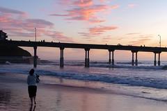 An evening stroll (matthew:D) Tags: california fun beach ocean water sunset oceanbeach landscape unitedstates evening morning waves