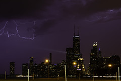 5 of 13 (aerojad) Tags: eos canon 80d dslr 2019 autumn outdoors landscape city urban chicago northavenuebeach lakemichigan longexposure thunderstorm storm lightning lightningphotography clouds weather ilwx nature skyline cityscape slowshutter