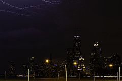 2 of 13 (aerojad) Tags: eos canon 80d dslr 2019 autumn outdoors landscape city urban chicago northavenuebeach lakemichigan longexposure thunderstorm storm lightning lightningphotography clouds weather ilwx nature skyline cityscape slowshutter