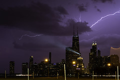1 of 13 (aerojad) Tags: eos canon 80d dslr 2019 autumn outdoors landscape city urban chicago northavenuebeach lakemichigan longexposure thunderstorm storm lightning lightningphotography clouds weather ilwx nature skyline cityscape slowshutter