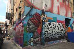 Graffiti Alley. Toronto. (Bernard Spragg) Tags: graffitialleytoronto canada murals wallart graffiti lumix streetart paintings street scenes compactcameras colours cco