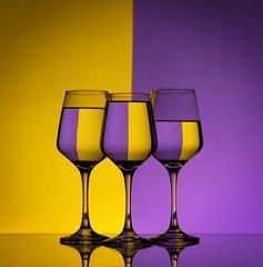 39 of 52 Weeks (Lyndon (NZ)) Tags: week392019 startingtuesdayseptember242019 52weeksthe2019edition colour glass three stilllife ilce7m2 sony 2019 water