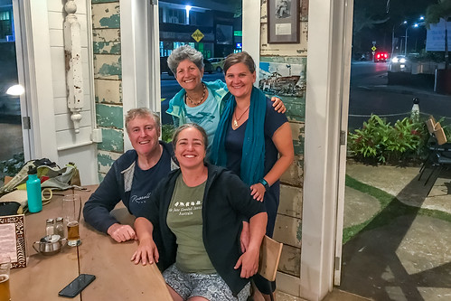 Russell, Marcia, Kathy & Ursula at Friends Cafe