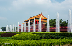 Palace Museum (E. Aguedo) Tags: palace garden architecture china beijing fountain water green cloudssky building exterior history famousplace travel asia chineseculture