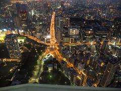 Tokyo walker (sapphire_rouge) Tags: metropolitanexpressway tokyotower メインデッキ maindeck 首都高 observation 東京タワー 展号室 tokyo