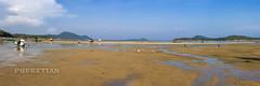 Low_Tide_Panorama_ Rawai_1S (Phuketian.S) Tags: lowtide beach rawai phuket thailand boat vessel vehicle landscape sea ocean asia asian thai ship wooden vintage blue sky bottom tide panorama nature paradise travel tour phuketian