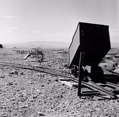Tonopah Historic Mining Park (poavsek) Tags: tonopah nevada film hasselblad acros fujifilm ore mining