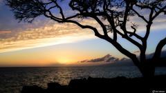 Maui Sunset (Ken Mickel) Tags: clouds coast hawaii kenmickelphotography landscape maui ocean outdoors seascape seashore sky wahikuliwaysidepark waterscape nature photography sunset water lahaina unitedstatesofamerica