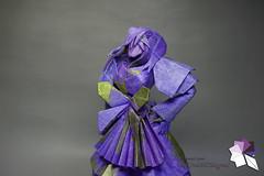 Housemaid (Rydos) Tags: paper origami art hanji koreanpaper korean origamist koreanorigamist paperfold fold folding paperfolding designed design model papermodel korea origamilst chen xiao house maid chenxiao housemaid selfmade handmade