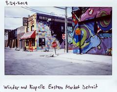 instaxwide-120 (elsuperbob) Tags: detroit michigan emptystreets fujiflm instaxwide300 instax instantfilm easternmarket
