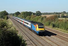 43043 43045 Cossington (CD Sansome) Tags: high main line midland hst mml cossington speed train trains east emt stagecoach 43 midlands emr 43043 43045 abellio