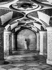 By The Wall - Explored (Sean Batten) Tags: london england unitedkingdom crystalpalace crystalpalacesubway southlondon blackandwhite bw streetphotography street nikon d800 2470 city urban