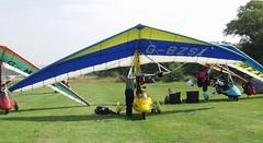 G-BZSI at Sandown (chrysanyo) Tags: sandown uk microlight pegasus