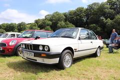BMW 316 E779STX (Andrew 2.8i) Tags: show automobile auto voiture cars car classics classic carmarthenshire arms bronwydd day transport railway gwili german saloon sedan 3series e30 compact executive 316i 316 bmw e779stx