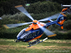 Barton (10/9/19) (hjm_photography21) Tags: red eurocopter ec135 helicopter flying departing rotors tailrotor skids charter manchester barton fuel airfield refuel salford aircraft airtraffic airport air aviation atc avgeek camera cockpit vehicle helicopters fast outdoor ee england engine heliport sigma photographer photography passenger photos jeta1 nikon pilot