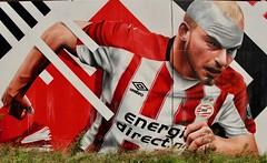 Mural PSV 2019 Eindhoven (ToJoLa) Tags: 2019 eindhoven graffiti muurschildering canon canoneos60d voetbal psv stad soccer sport