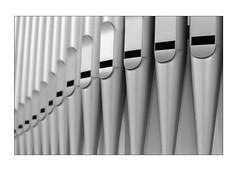 Organ pipes (K.Pihl) Tags: leicam5 hc110b800 blackwhite darkroom monochrome print overexposedoverdeveloped availablelight 90mmsummicron pellicolaanalogica schwarzweiss kodaktrix400200 analog film bw