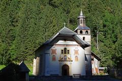 Chapelle Notre-Dame-de-la-Gorge (Haute-Savoie) (bernarddelefosse) Tags: notredamedelagorge chapelle valmontjoie lescontaminesmontjoie hautesavoie rhônealpes france architecture