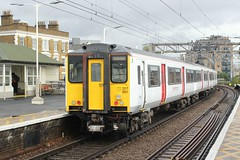 abellio Greater Anglia . 317881 . Bethnal Green Station , East London .  Friday afternoon 27th-September-2019. (AndrewHA's) Tags: railway train bethnalgreen station eastlondon abellio greater anglia class 317 317891 electric multiple unit emu 2h34 liverpool street cambridge passenger service brel york 317321 st pancras moorgate bedford class317