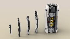 U-Wing Reactor (Mr_Idler) Tags: lego starwars moc ucs uwing rogueone