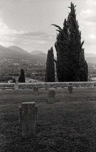 WWII German Cemetery in Caira, near Cassino, Italy (35mm Kodak Tri-X 400 in Finol)