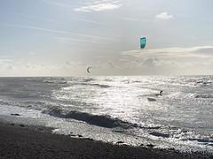 Sea Lane Cafe vistas ❤️ (markshephard800) Tags: sea sunlight waves kitesurfing surfers goringbysea reflections
