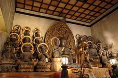 The wooden statues of 25 bodhisattvaes (Teruhide Tomori) Tags: 二十五菩薩坐像 阿弥陀如来 仏像 寺院 京都 泉涌寺 即成院 日本 重要文化財 statue kyoto japan sokujohin temple sennyuji japon bodhisattva
