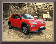 HYUNDAI KONA (fernanchel) Tags: car vehiculo electrico nuevo new hyundai kona hyundaikona gimp torrent spain vehicle coche electric