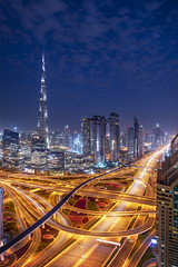 To the Horizon (Bereno DMD) Tags: dubai city arab united emirates metro metropolitan urban east arabian sunrise sunset symmetry business panoramic pan panorama shot nikon d850 full frame pretty beautiful light lights gulf uae burj khalifa travel photography bucket list pano unitedarabemirates burjkhalifa night nightshot nighttime traffic lighttrail lighttrails trail taillights headlight headlights street streets road roads roadtrip trip adventure adventures skyline cityscape fullframe building buildings emirate