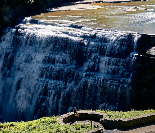 The Middle Falls of the Genesee