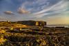 Rocky Coast Sunset (CraDorPhoto) Tags: canon6d sunset landscape coast mediterranean rocky sky clouds nature outdoors outside dwejra gozo malta