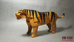 TIGER (atilla yurtkul) Tags: origami tiger satoshi kamiya craft papercraft atilla yurtkul kaplan