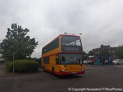 YN54OAC 54 Midland Classic in Lichfield (Nuneaton777 Bus Photos) Tags: midland classic scania omnidekka yn54oac 54 lichfield